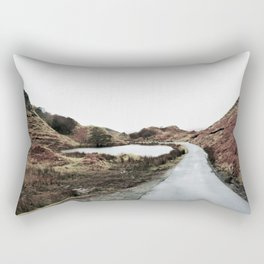 Road through Fairy Glen Rectangular Pillow