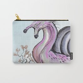 Pink snail Carry-All Pouch