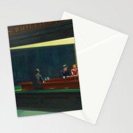 Nighthawks American art Stationery Cards