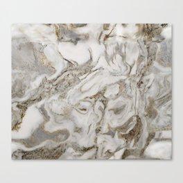 Crema marble Canvas Print