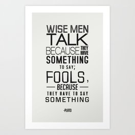 Wise Men Art Print