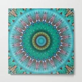 Mandala source of life Metal Print