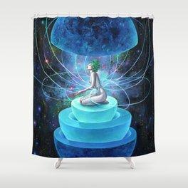 NEUTRON SEPPUKU Shower Curtain