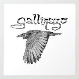 Gallinazo Art Print