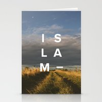 islam Stationery Cards featuring Islam- Poster by Canvas Dawah