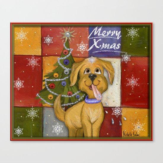 Merry Xmas Canvas Print