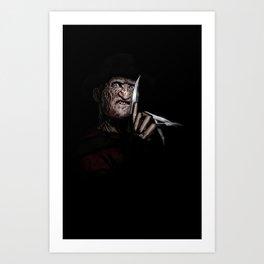 FREDDY KRUEGER! Art Print