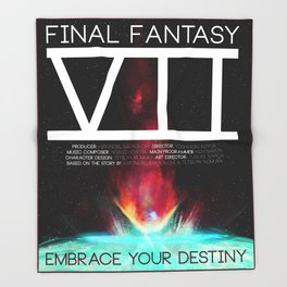 Final Fantasy VII - Destiny Throw Blanket