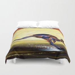 Kangaroo Dreaming Duvet Cover