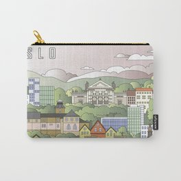 Oslo City Poster Carry-All Pouch