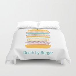 Death by Burger Duvet Cover