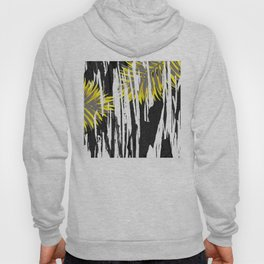 Abstract Palm Tree Leaves Design Hoody