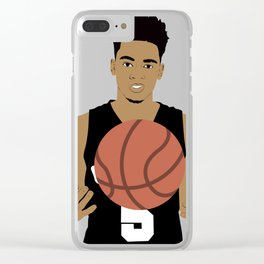 Dejounte Murray Clear iPhone Case
