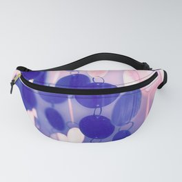 GLAM CIRCLES #Soft Pink/Blue #1 Fanny Pack