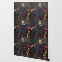 Portrait of Alfonso d'Este, Duke of Ferrara, by Titan Wallpaper