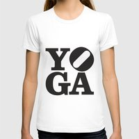 yoga T-shirts featuring YoGA by CGould