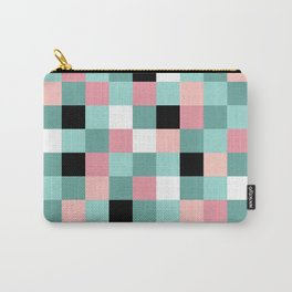 Miami Colors Geometric Carry-All Pouch
