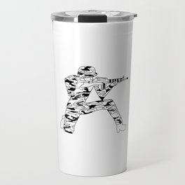 A-Z catalogue of the current times (A) Travel Mug