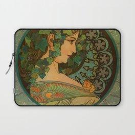 "Alphonse Mucha ""Ivy"" Laptop Sleeve"