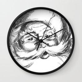 Jolly St. Nick Wall Clock