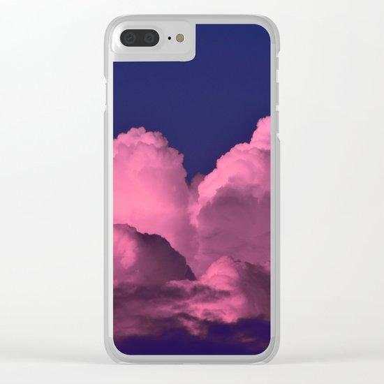 Cloud of Dreams  III Clear iPhone Case