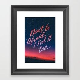 Reylo Quote Framed Art Print
