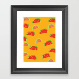 fruit cocktail Framed Art Print