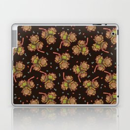 Dark hazelnuts pattern Laptop & iPad Skin