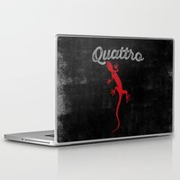 audi Laptop & iPad Skins featuring Quattro by Pisthead