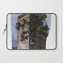 Tower of the palace (color) Laptop Sleeve