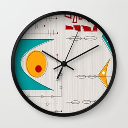 Aligning Of The Planet Wall Clock