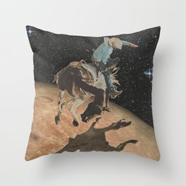 Lunar Bronco (Tribute to Apollo 13) Throw Pillow