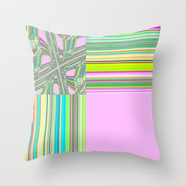 Re-Created Southern Cross XV by Robert S. Lee Throw Pillow