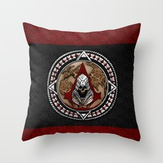 Aztec Assassin's Pirates Flag iPhone 4 4s 5 5c 6, pillow case, mugs and tshirt Throw Pillow