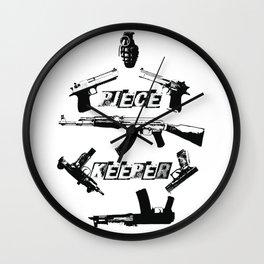 PIECE KEEPER Wall Clock