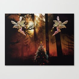 Christmas Faerie Dust Canvas Print