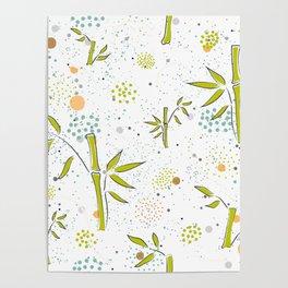 Cute Bamboo Poster