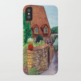 English Village iPhone Case