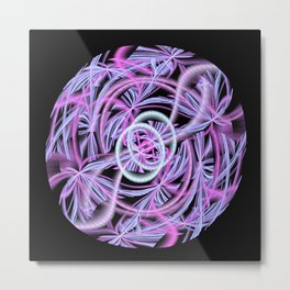 String Ball Abstract Metal Print