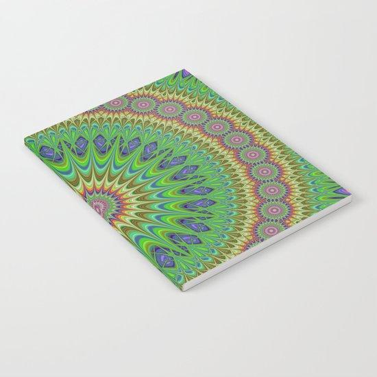 Spring star mandala Notebook