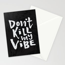 Black Panther Vibes Stationery Cards