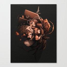 Slow Growth Canvas Print