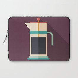 French Press Coffee Laptop Sleeve