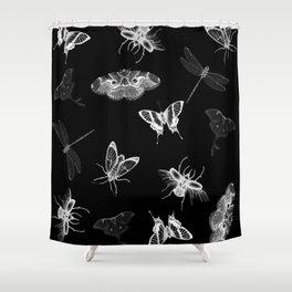 Entomologist Nightmares Shower Curtain