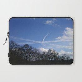 Plane Drawing Laptop Sleeve