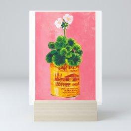 Geraniums Mini Art Print