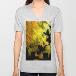 Herbstimpression. Unisex V-Neck