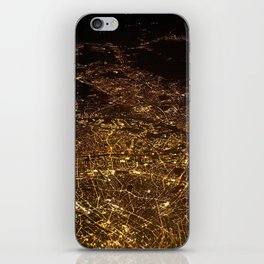 The City Lights (Color) iPhone Skin
