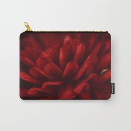 Red on Red Carry-All Pouch