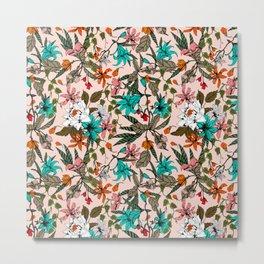 Blooming blooms exotic Metal Print